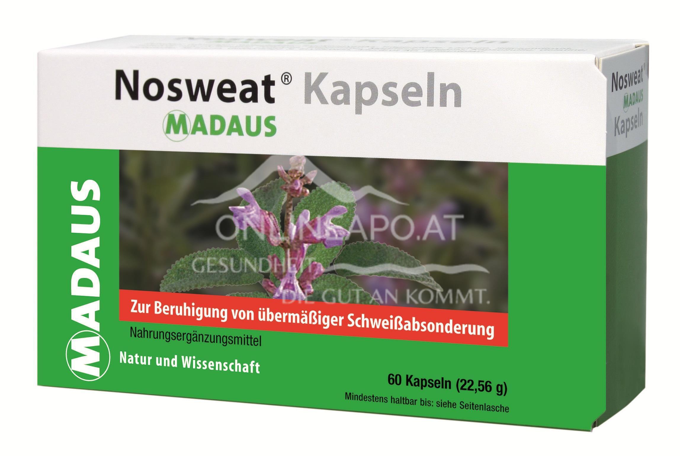 Nosweat Madaus Kapseln