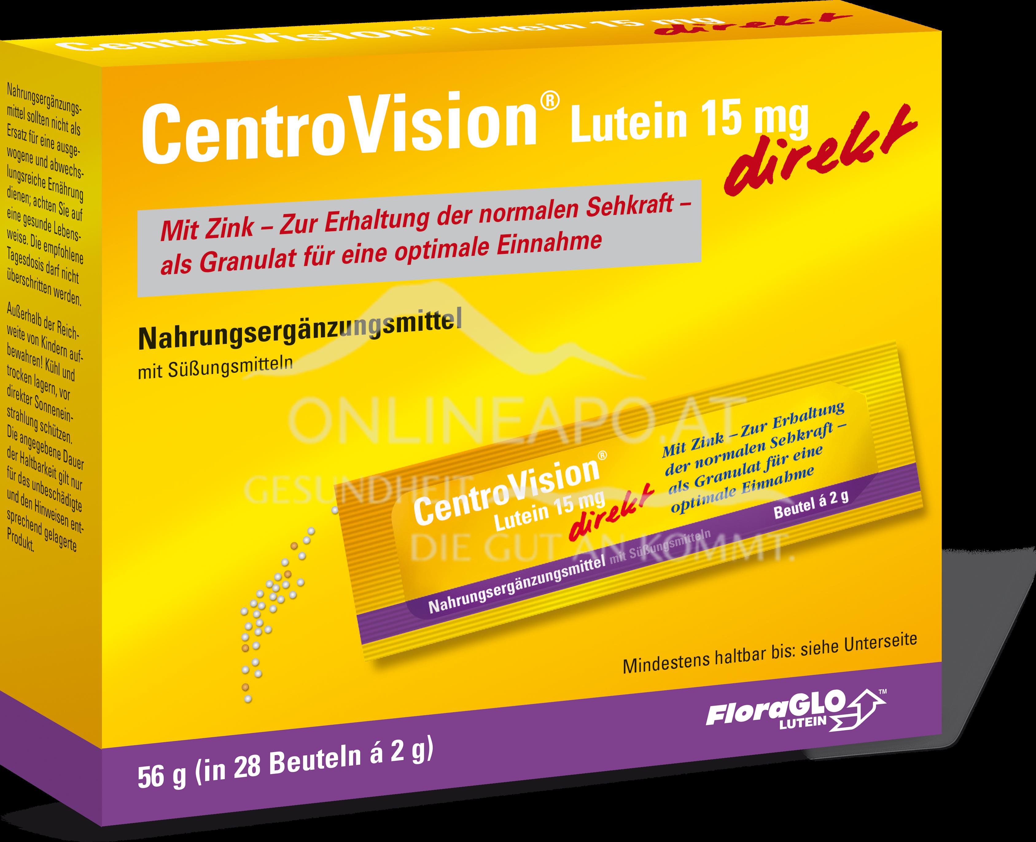 CentroVision® Lutein 15 mg direkt