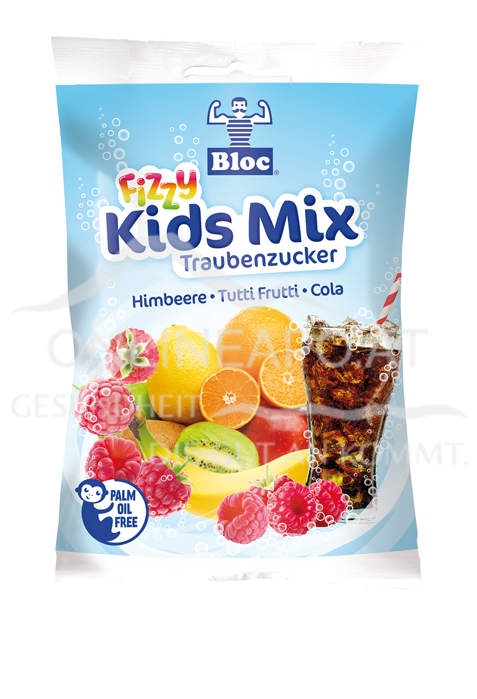Bloc® Traubenzucker Fizzy Kids Mix Beutel