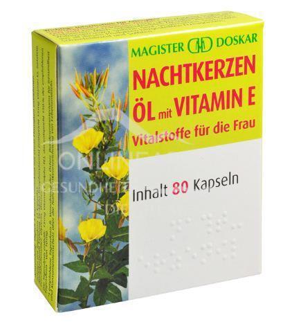 Doskar Nachtkerzenöl plus Vitamin E