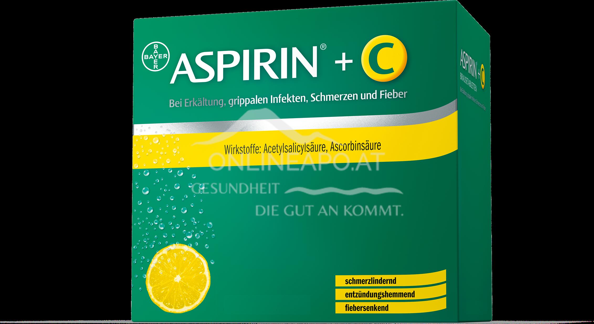 Aspirin®+C - Brausetabetten