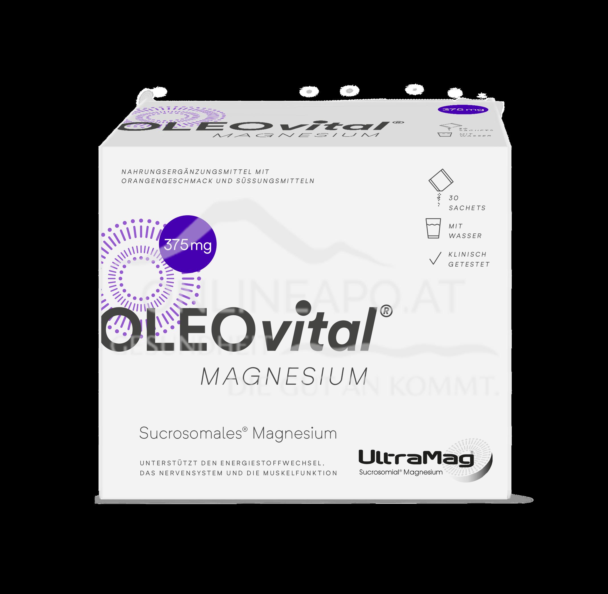 OLEOvital® MAGNESIUM  (375 mg) Sachets