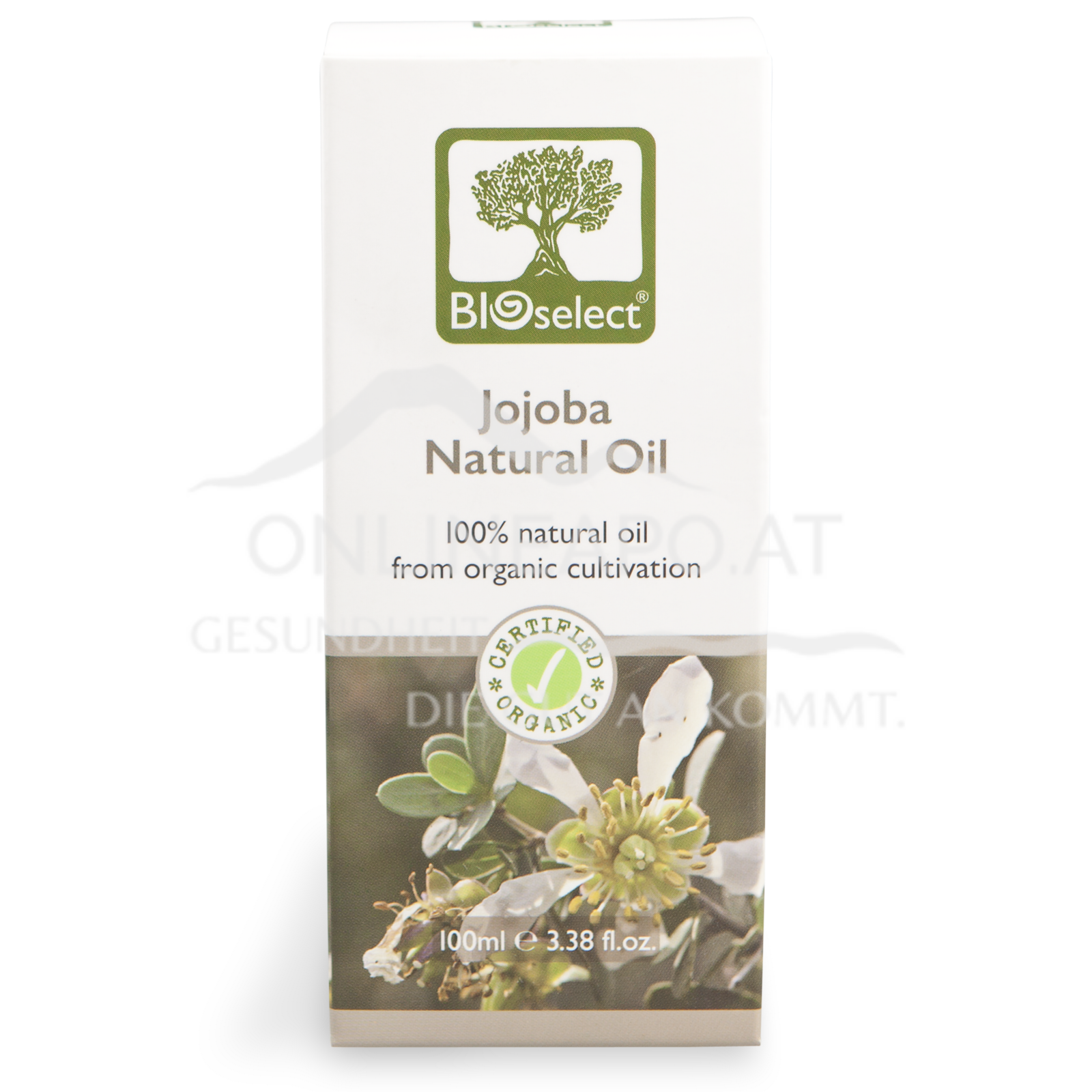 Bioselect Jojoba Natural Oil Certified Organic