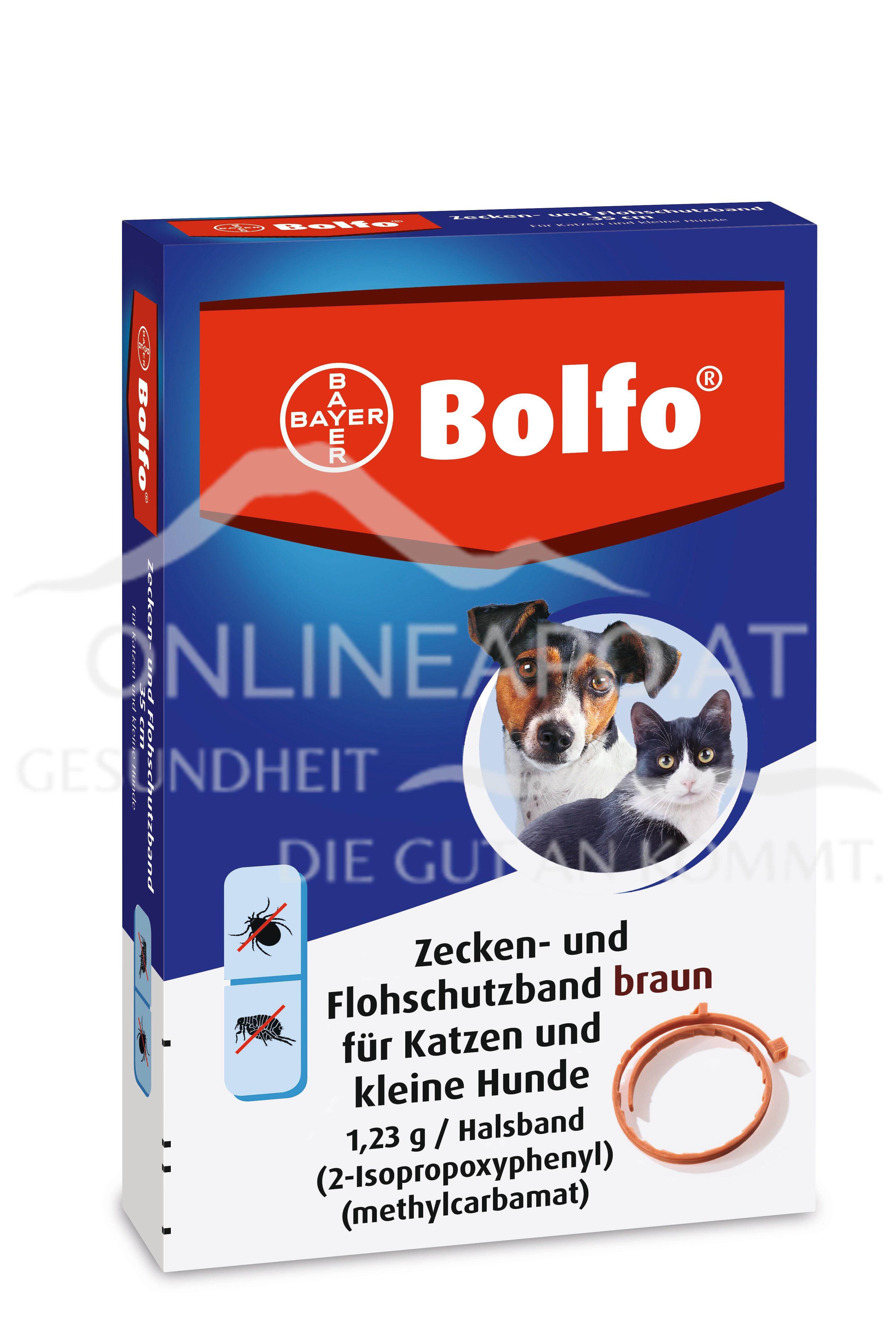 Bolfo® das Zecken- und Flohschutzband für kleine Hunde und Katzen