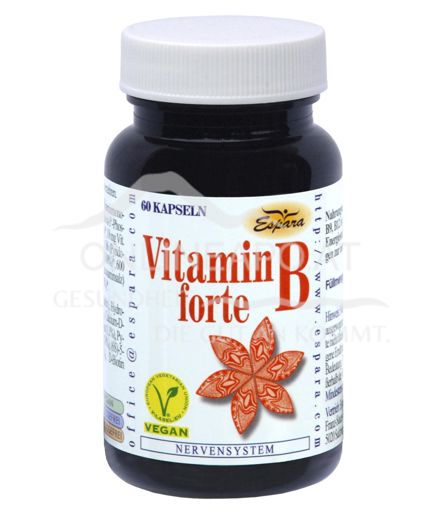 Espara Vitamin B forte Kapseln