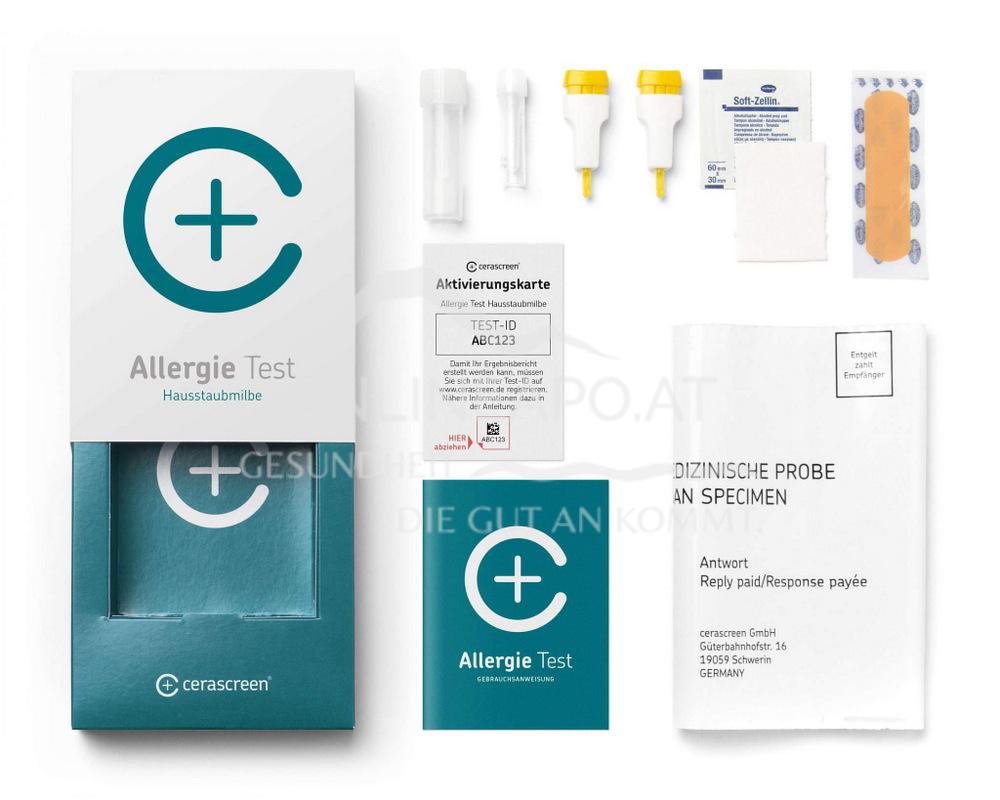 Cerascreen Hausstaubmilben Allergie Test