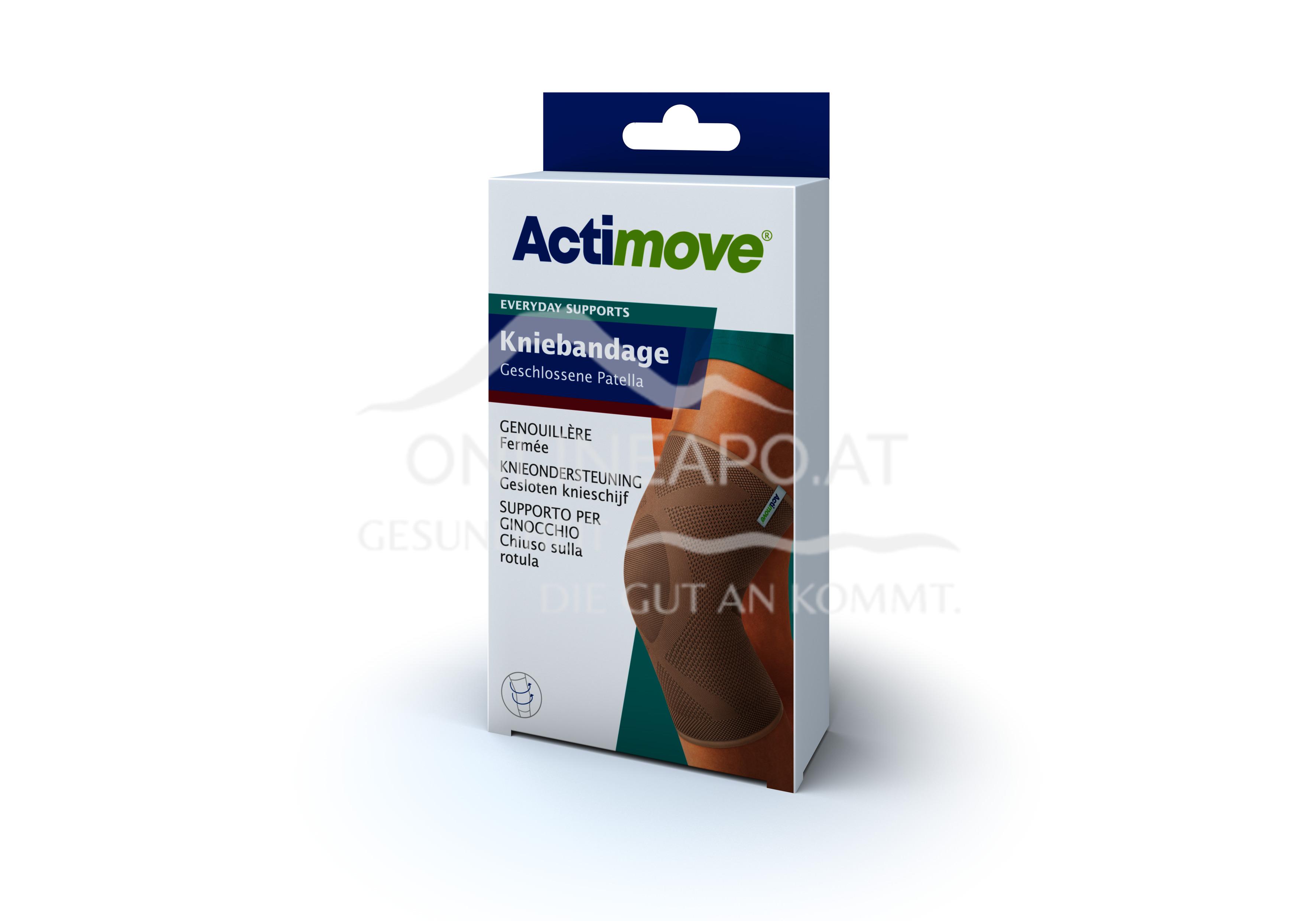 Actimove® Everyday Supports Kniebandage Geschlossene Patella Größe XL