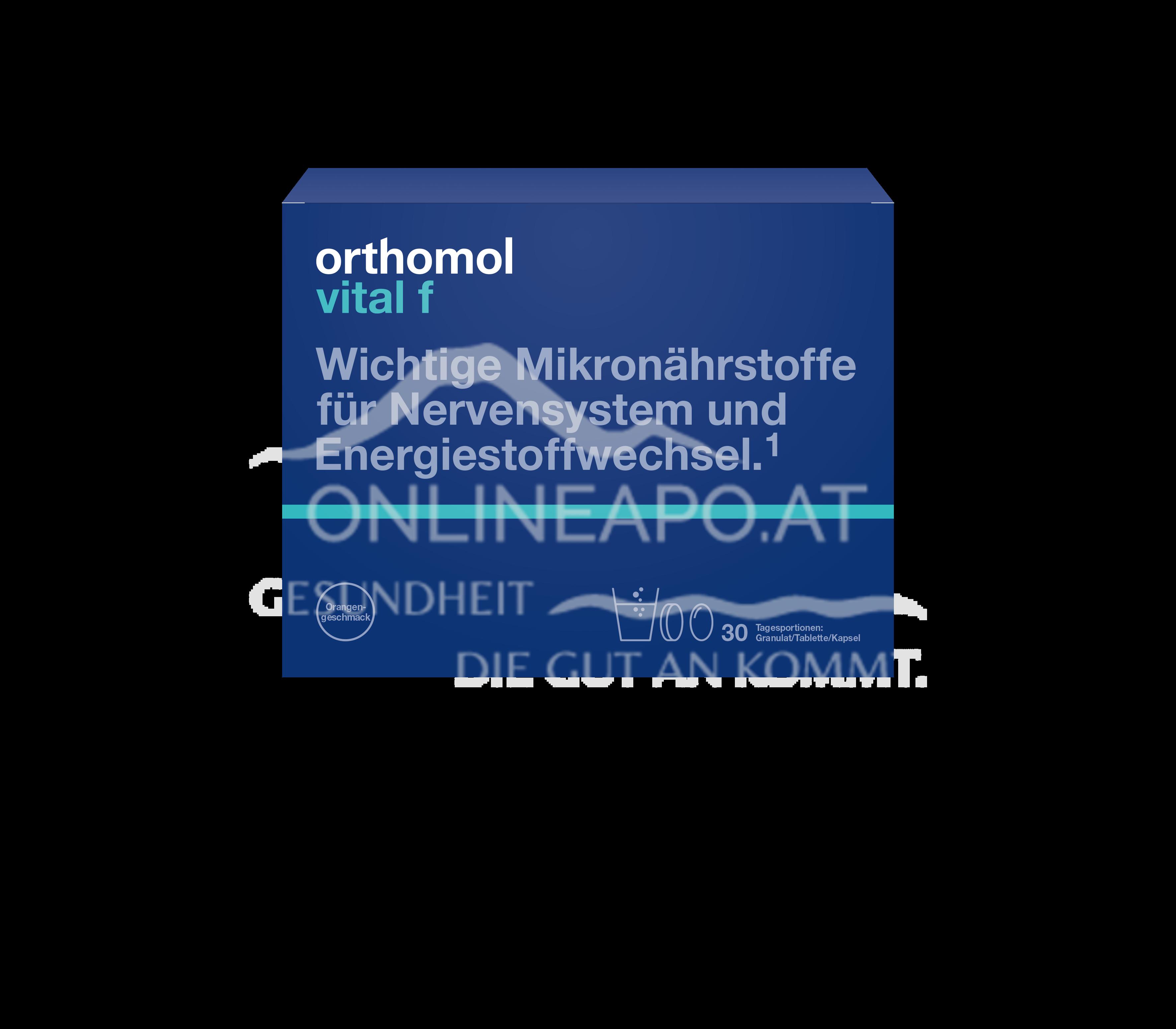 Orthomol Vital F Gran