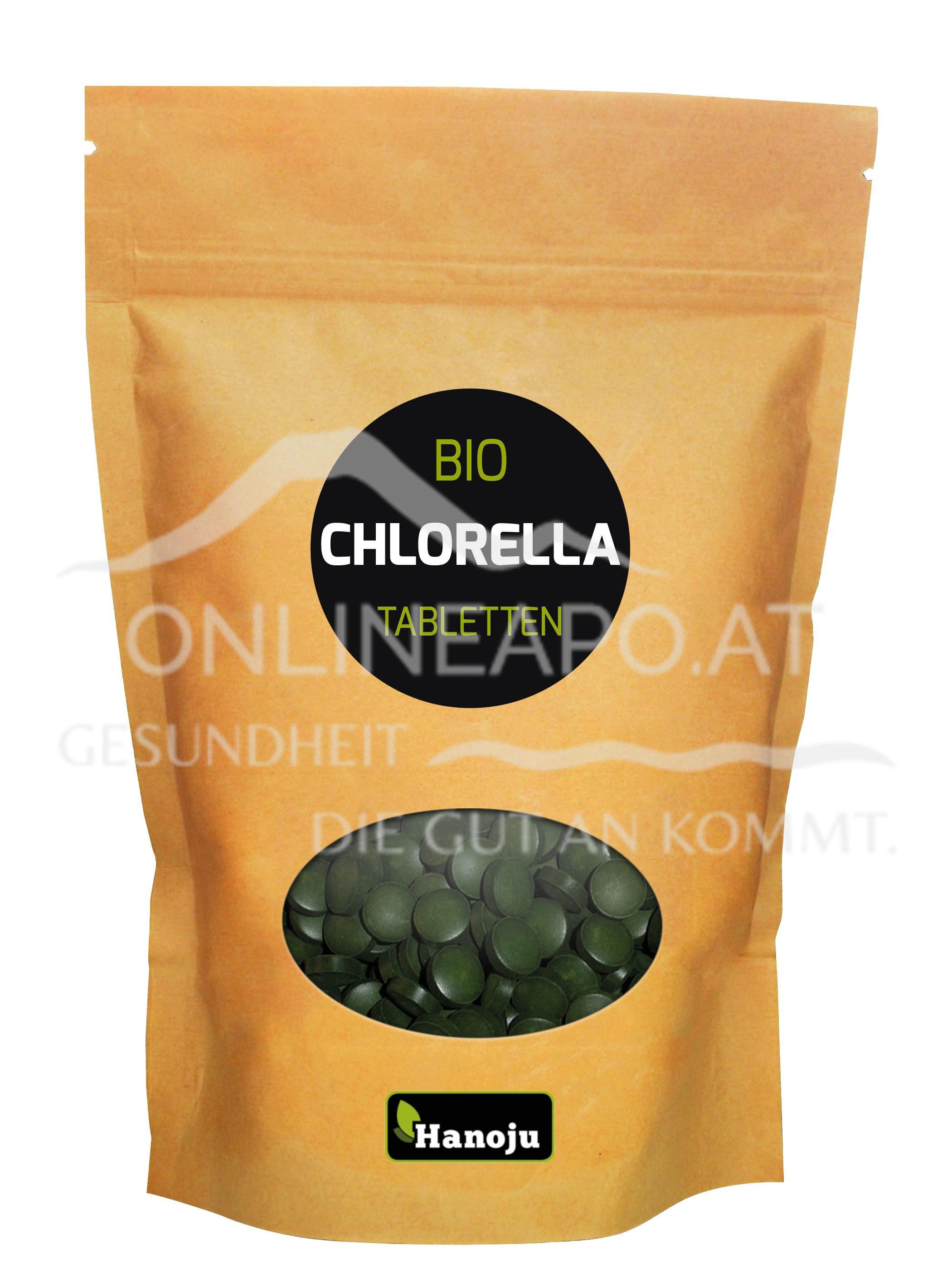 Hanoju Bio Chlorella 400 mg
