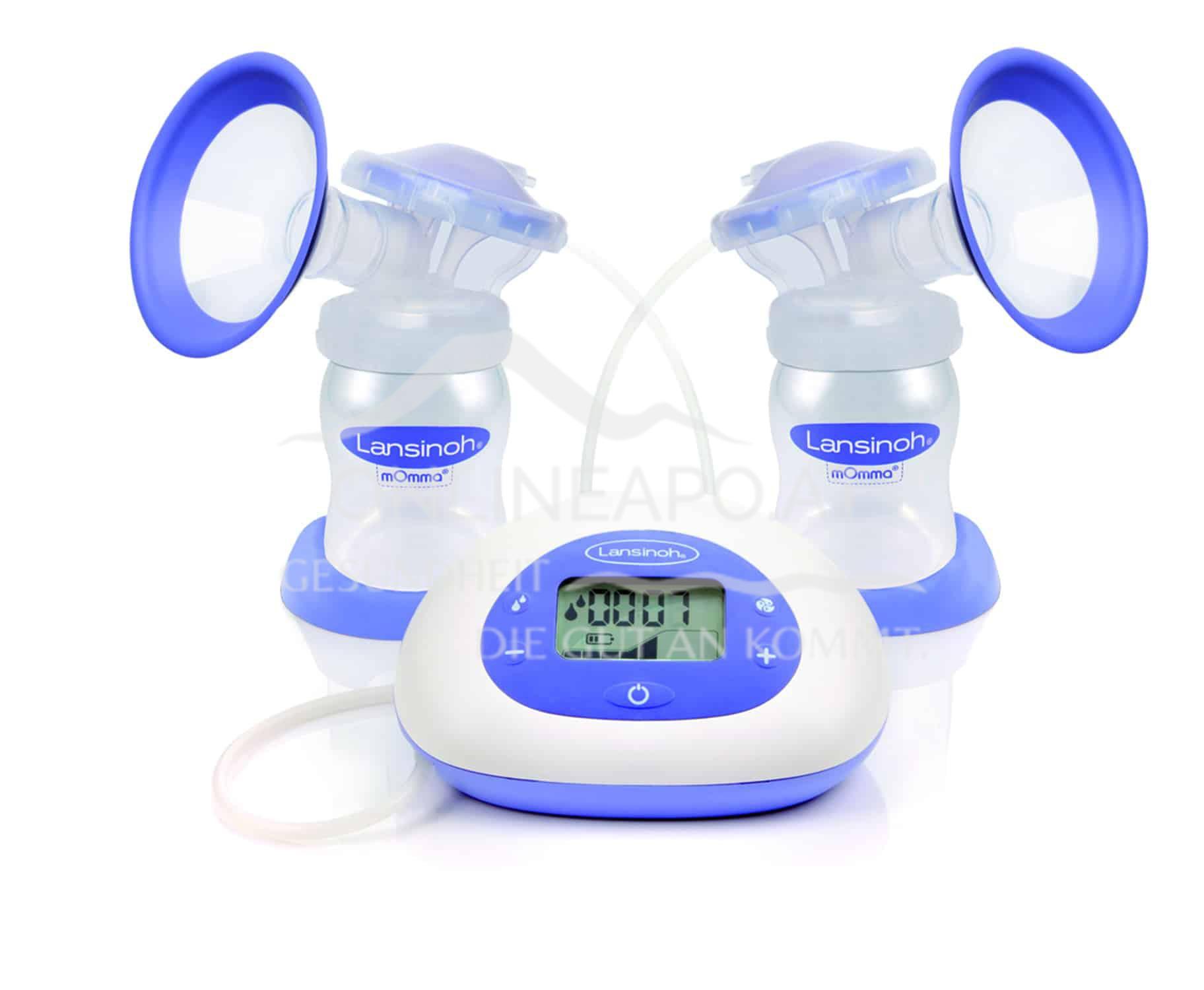 Lansinoh® 2in1 Elektrische Doppelmilchpumpe
