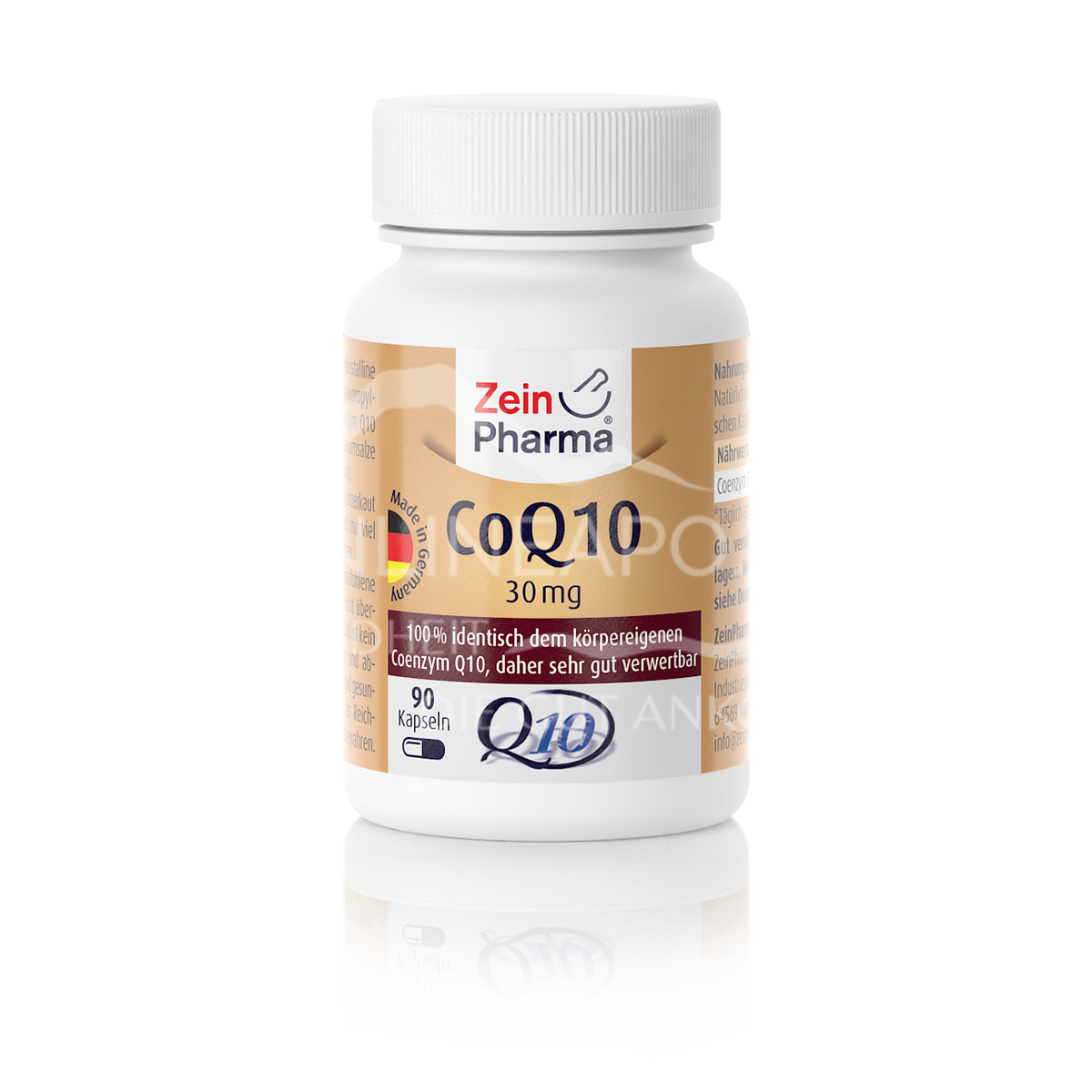 Zeinpharma Coenzym Q10 30 mg Kapseln