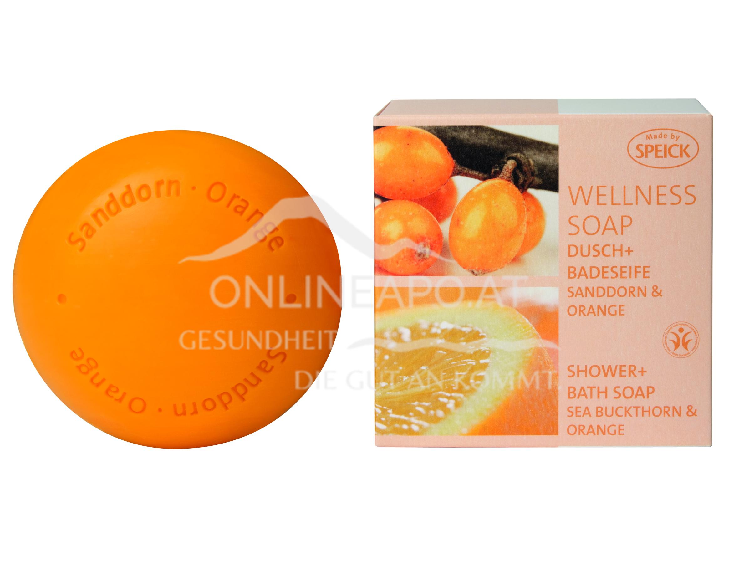 Made by Speick Wellness Soap Sanddorn & Orange
