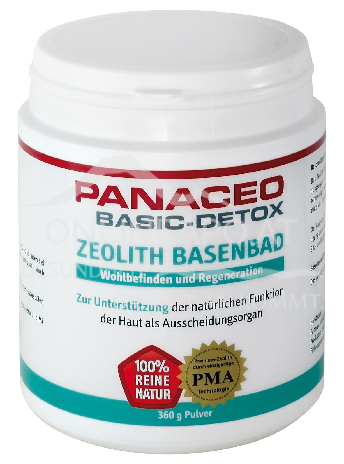 Panaceo Zeolith Basenbad