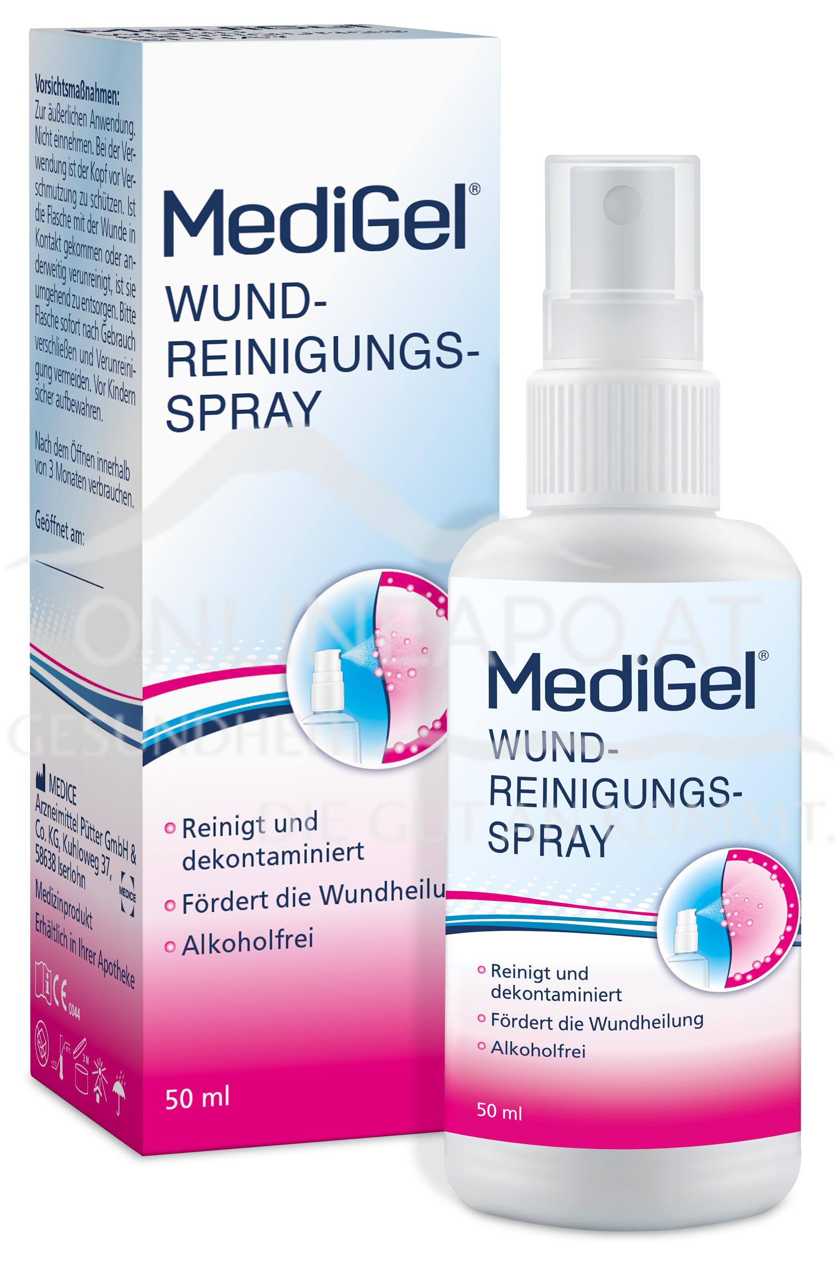 MediGel® Wundreinigungsspray