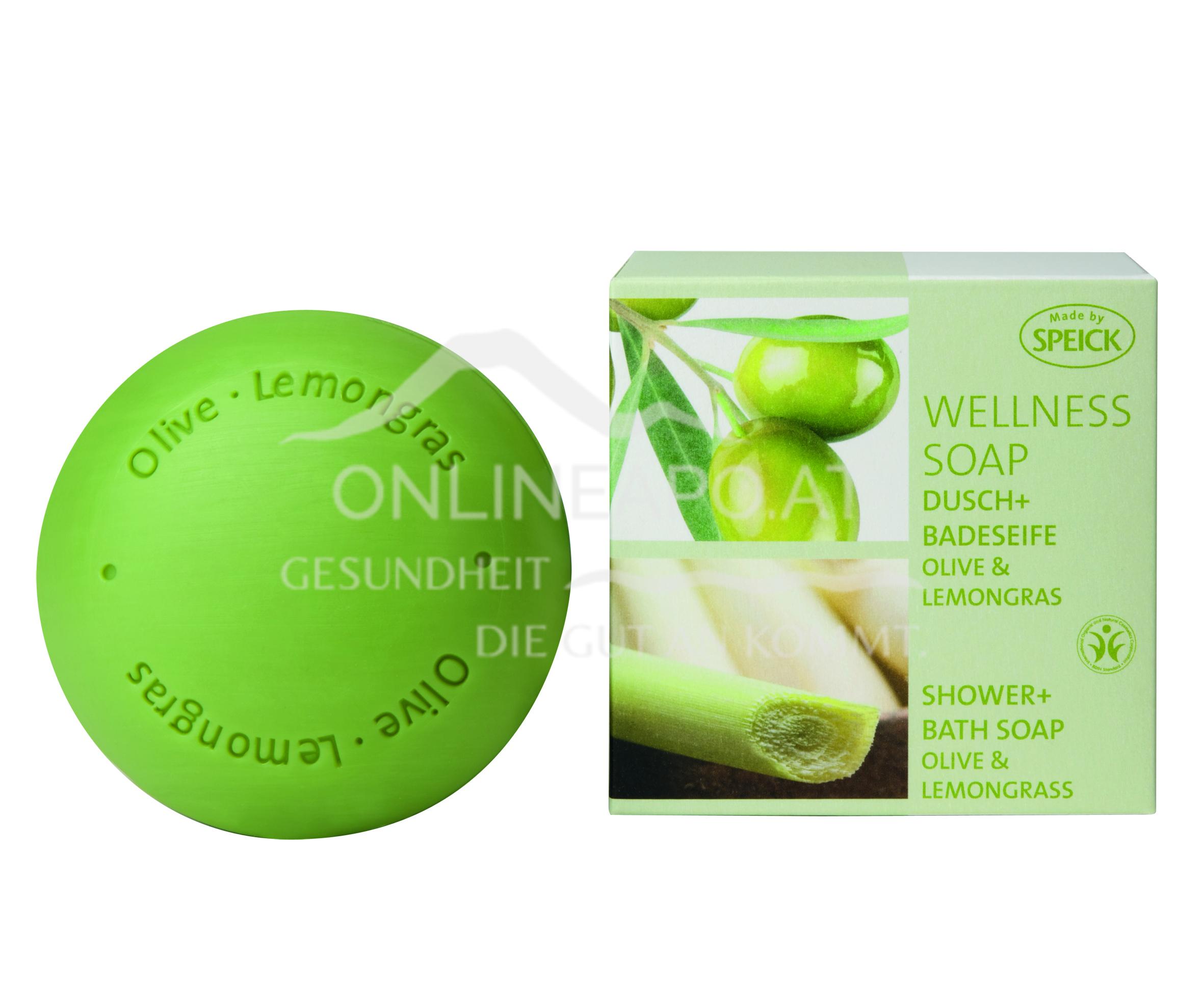 Made by Speick Wellness Soap Olive & Lemongras