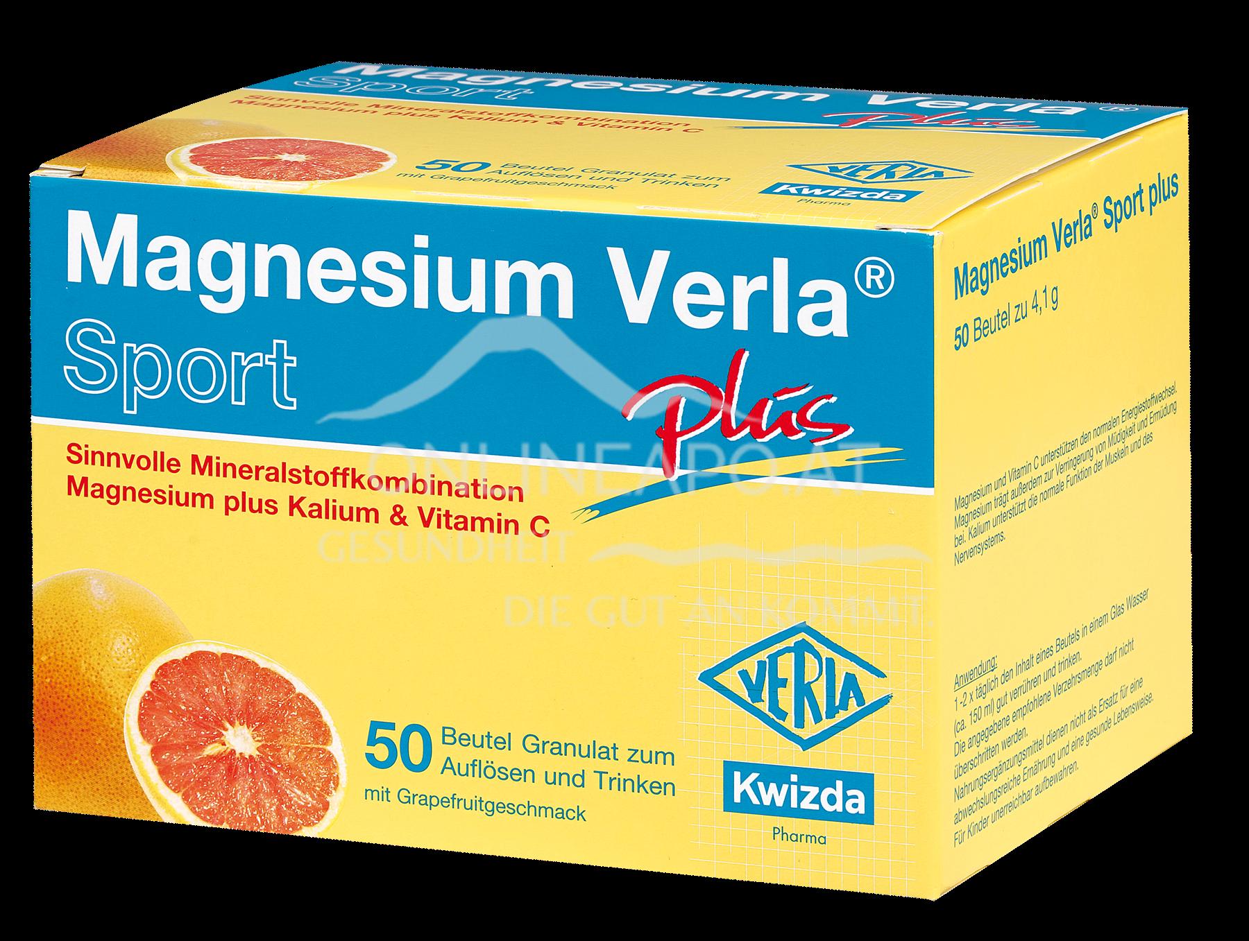 MAGNESIUM VERLA® Sport Plus