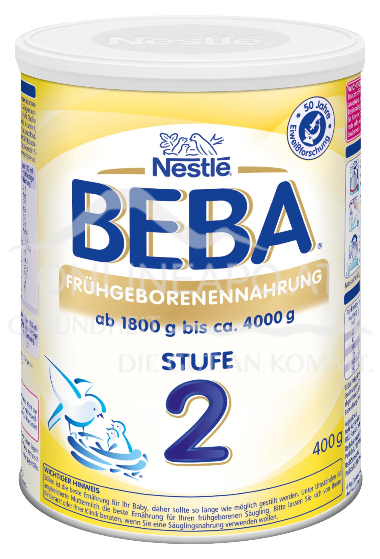 Nestlé BEBA Frühgeborenennahrung Stufe 2