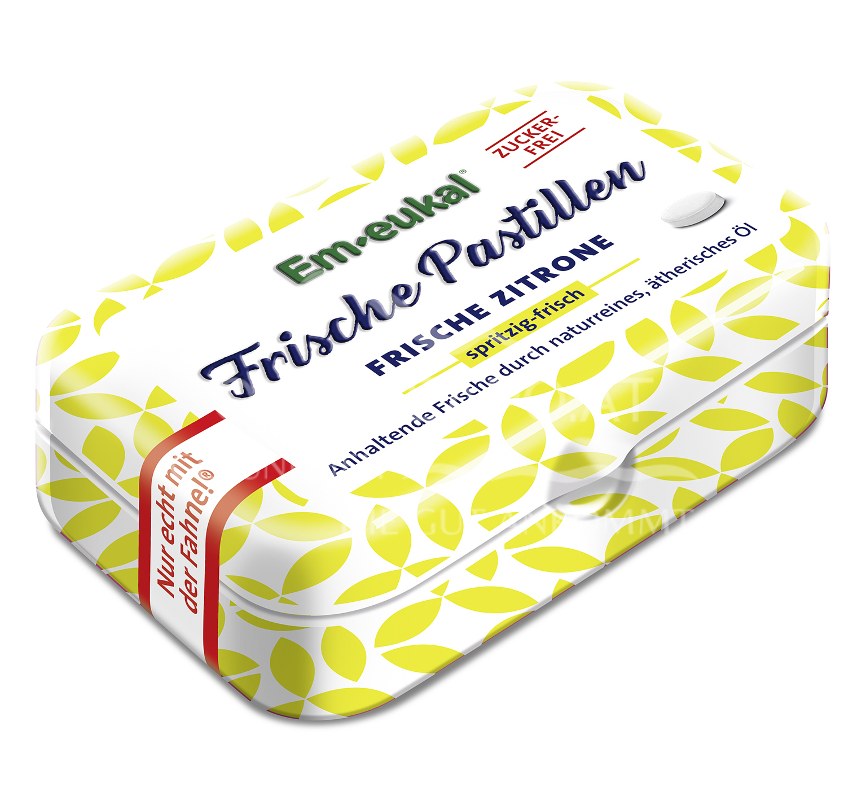 Em-eukal Frische Pastillen Frische Zitrone zuckerfrei