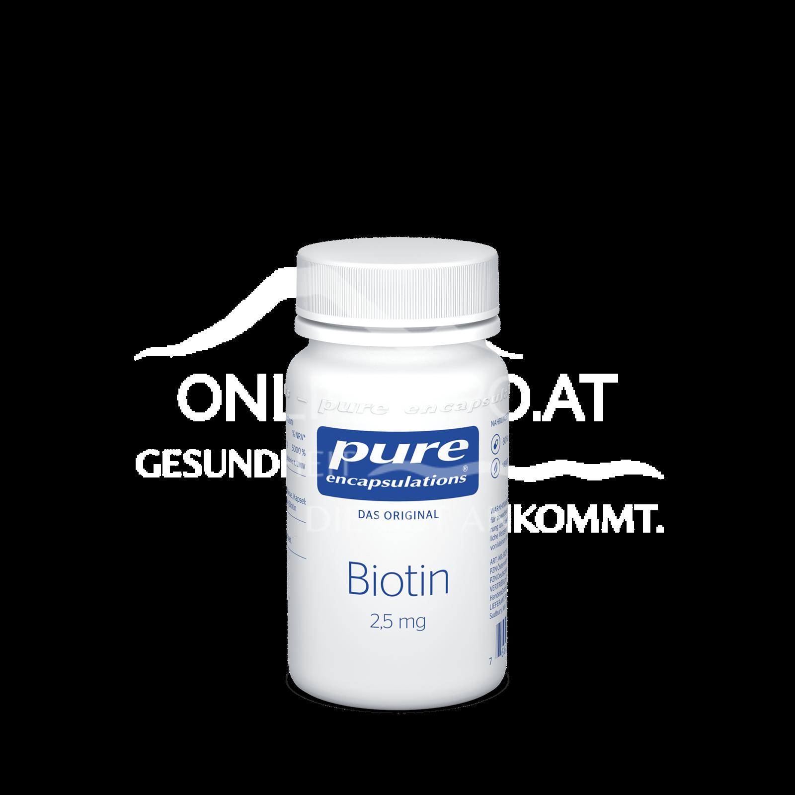 pure encapsulations® Biotin 2,5 mg