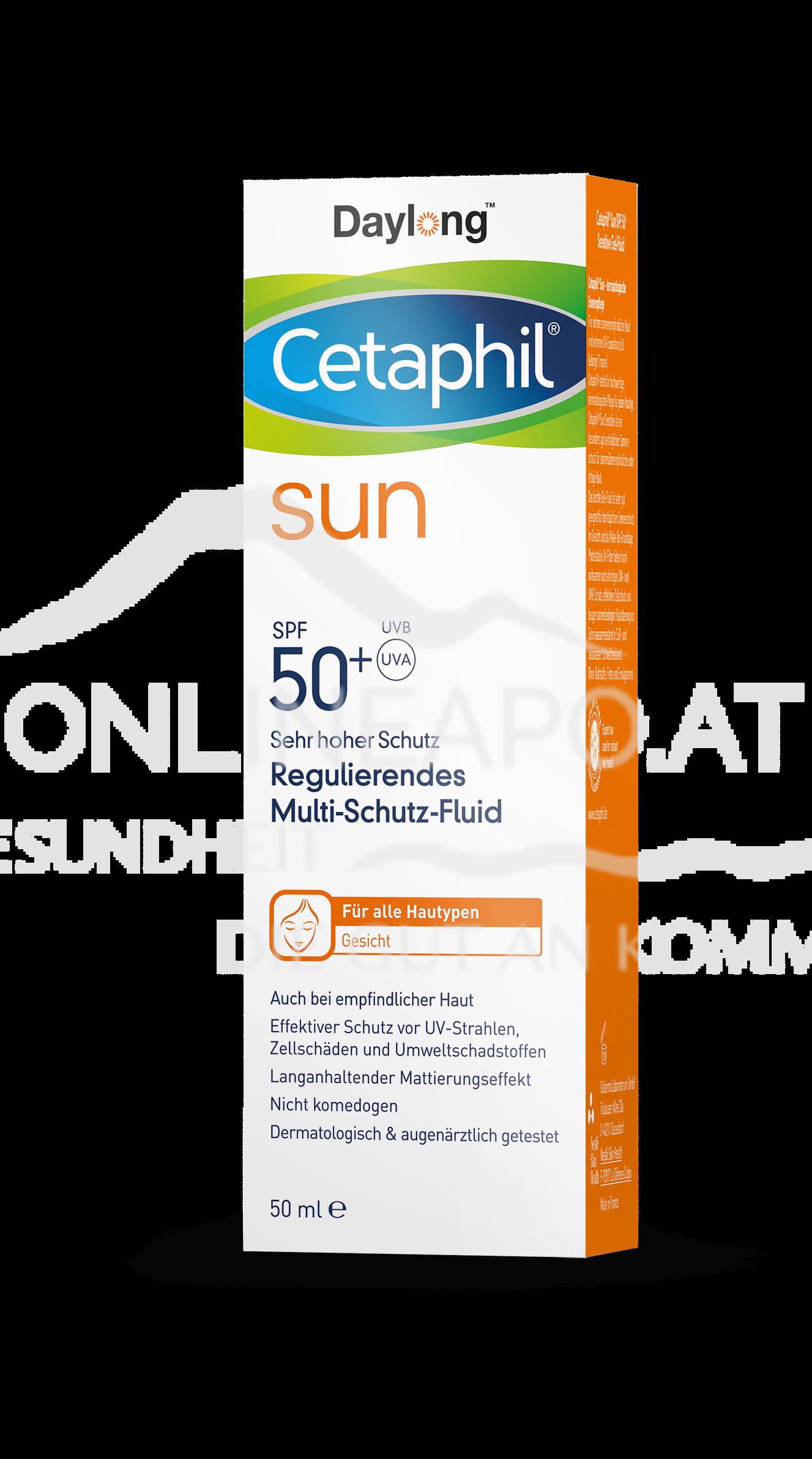 Cetaphil® Sun Daylong™ Regulierendes Multi-Schutz-Fluid Gesicht SPF 50+