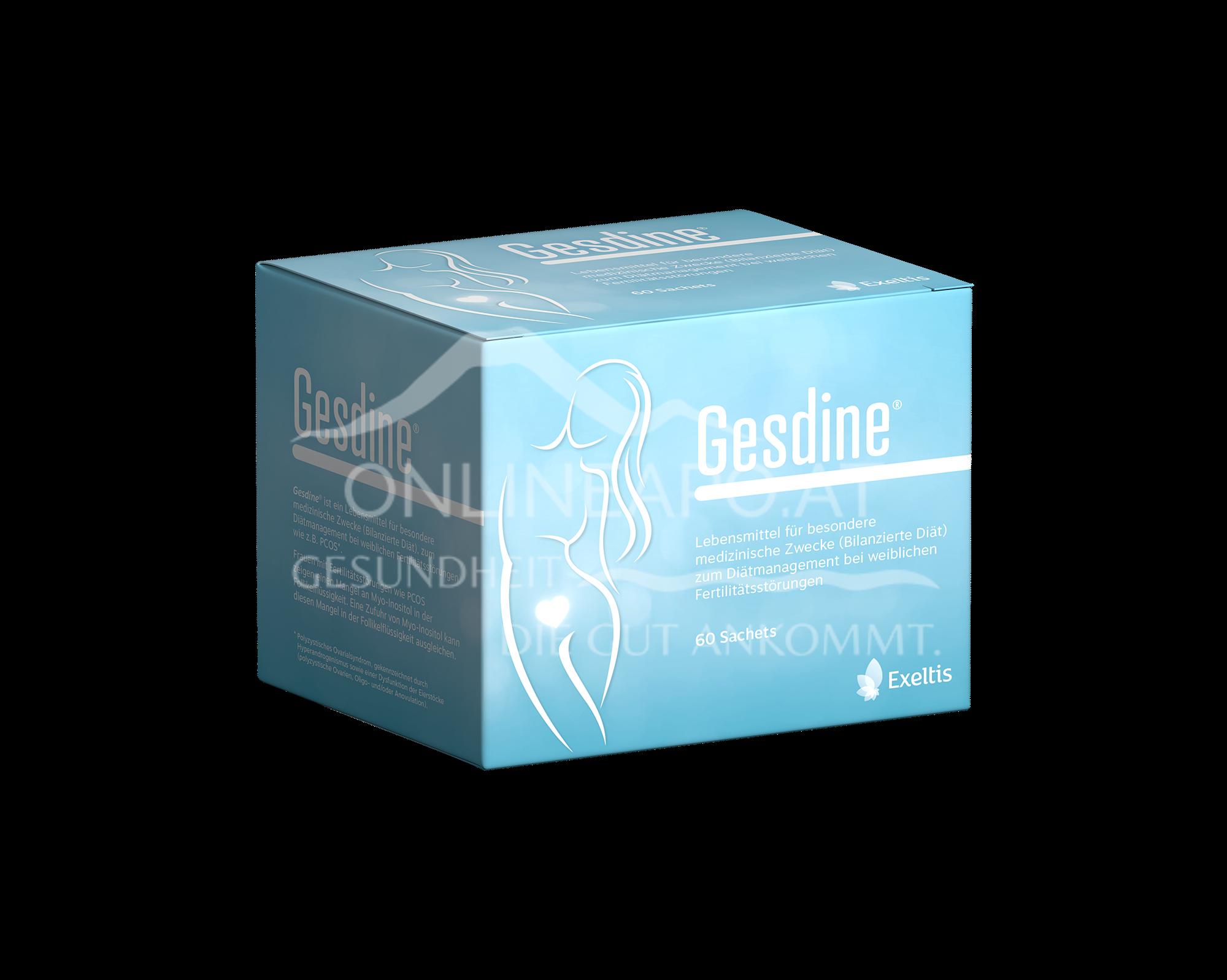 Gesdine Inositol +Folsäure