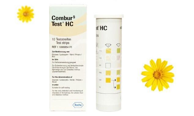 Combur 5 Test®HC Harnteststreifen