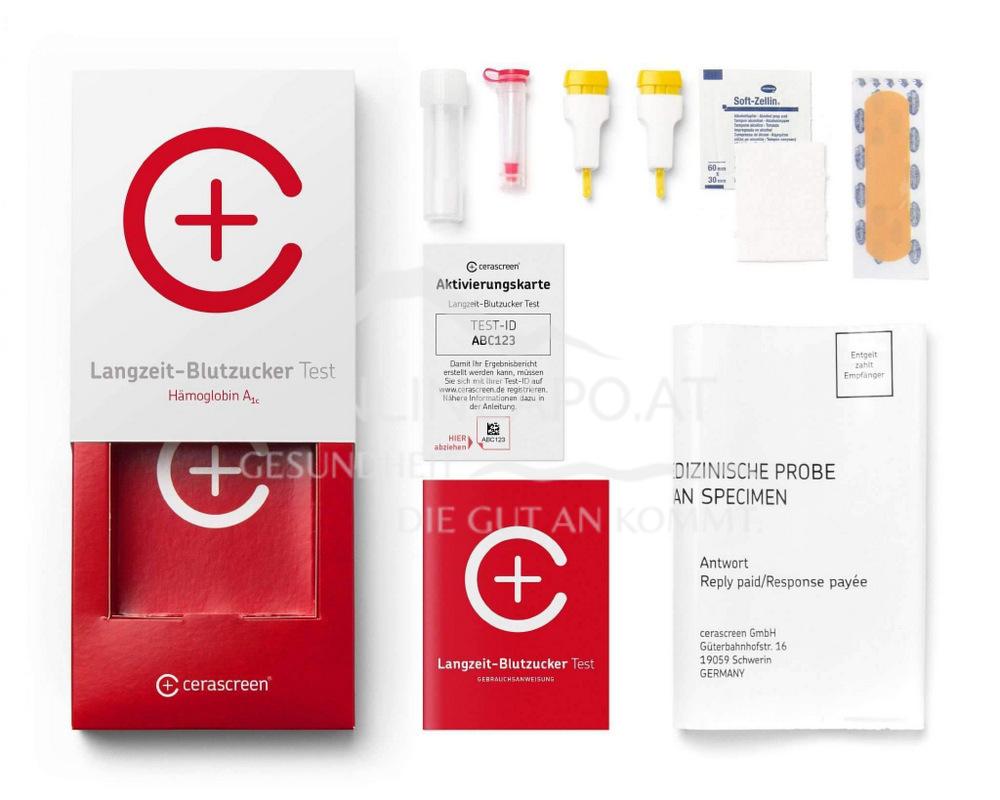 Cerascreen Langzeit Blutzucker Test
