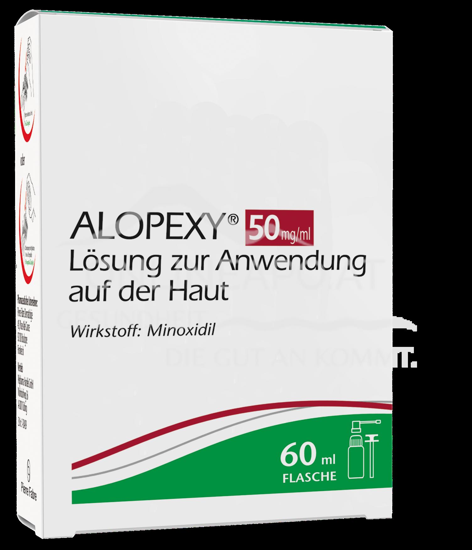 ALOPEXY 50 mg/ml Minoxidil Lösung
