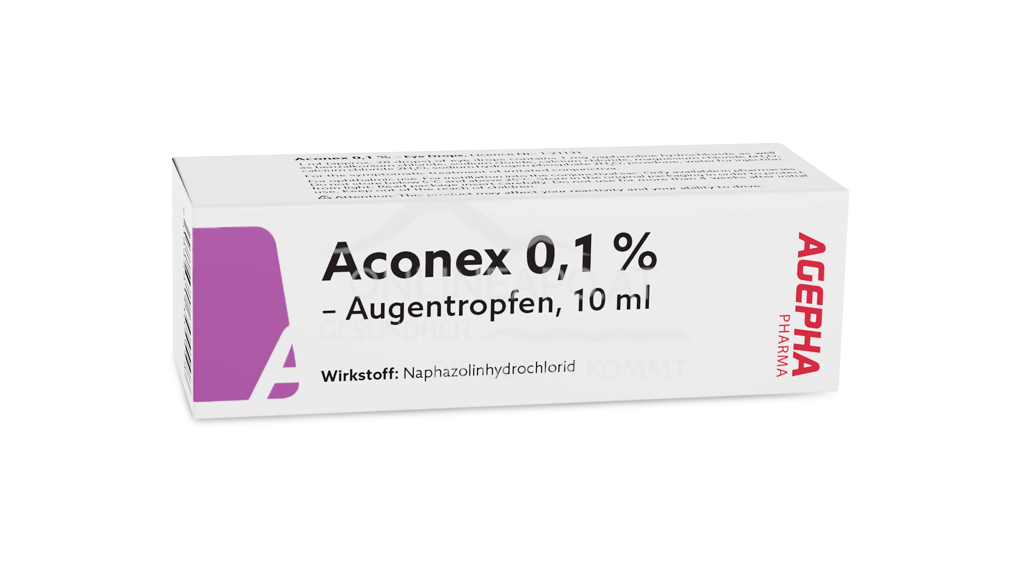 Aconex 0,1% Augentropfen