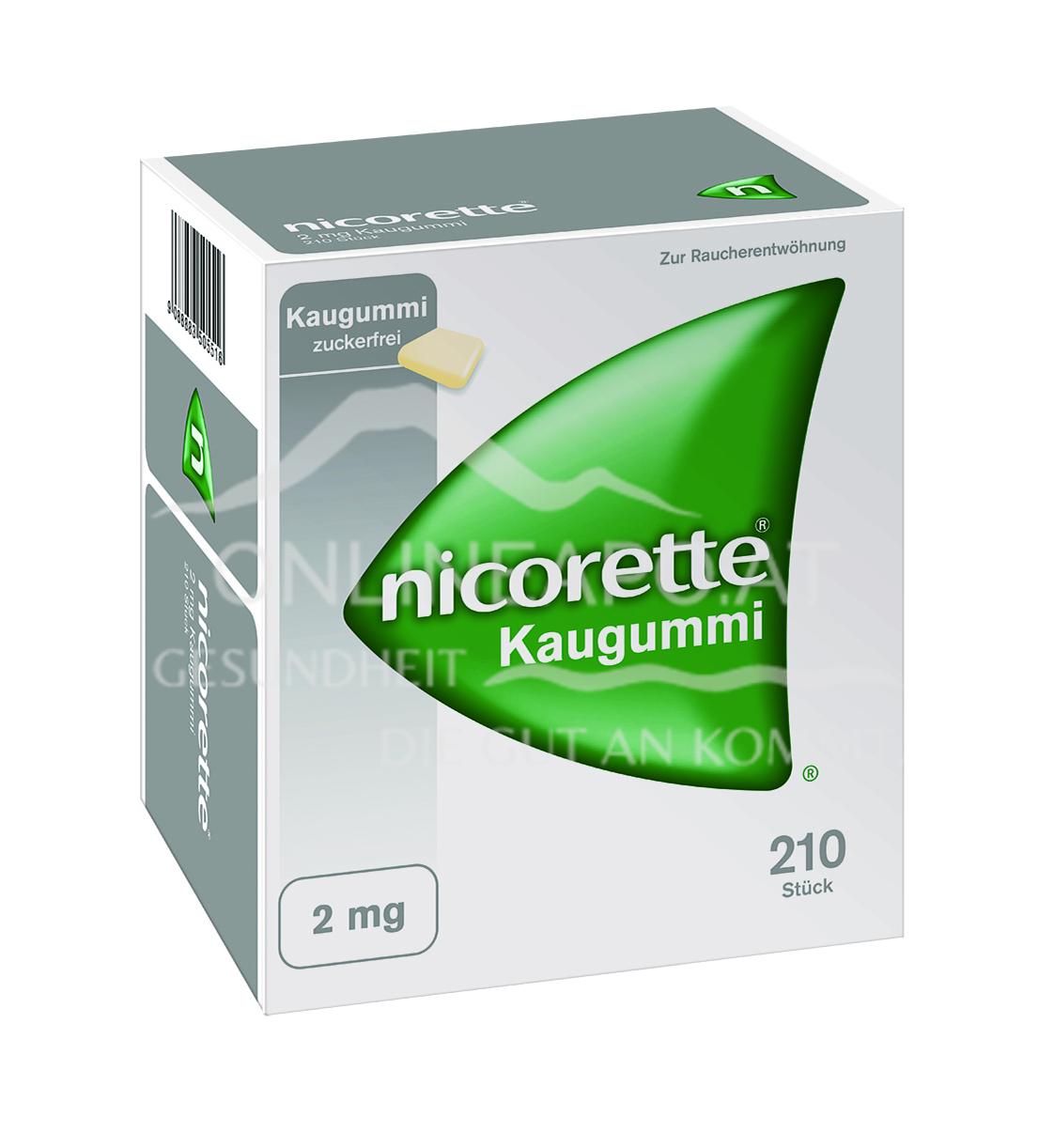 Nicorette Kaugummi 2mg - ohne Geschmack