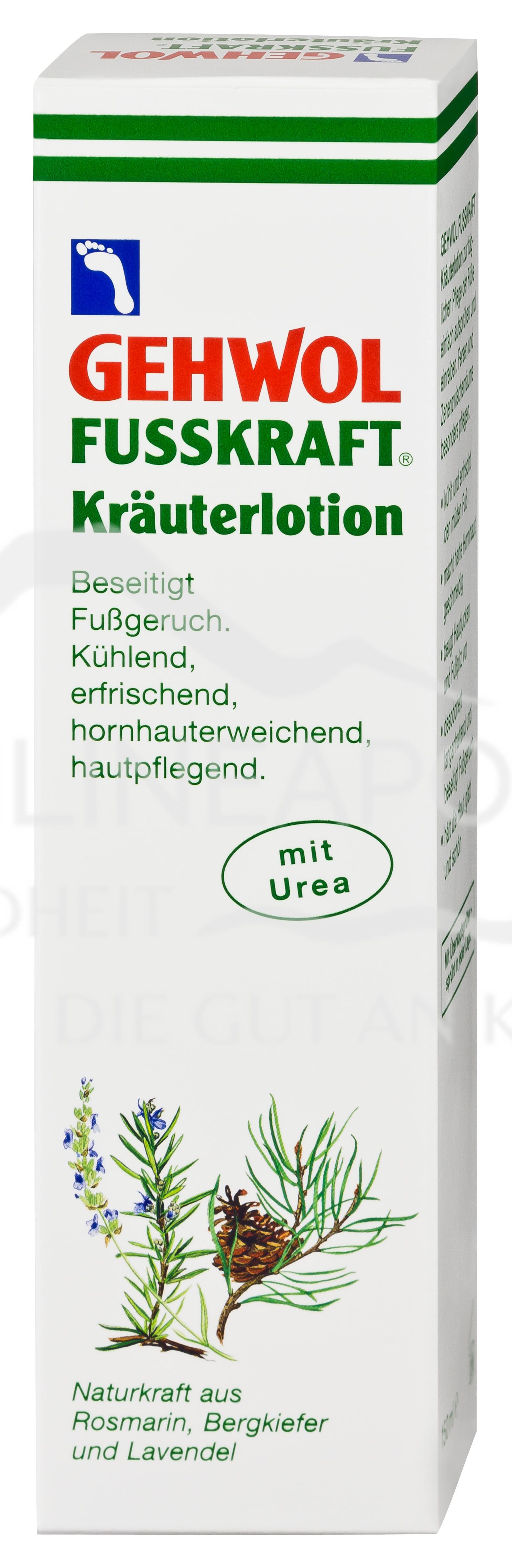 GEHWOL® FUSSKRAFT Kräuterlotion