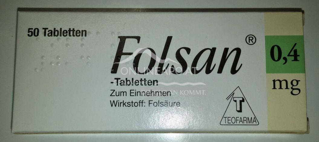 Folsan Tabletten 0,4mg