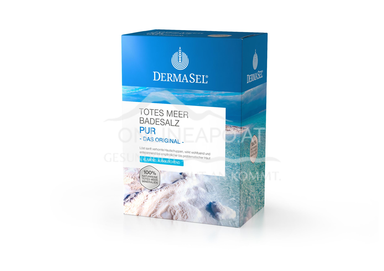 DermaSel® Totes Meer Badesalz Pur