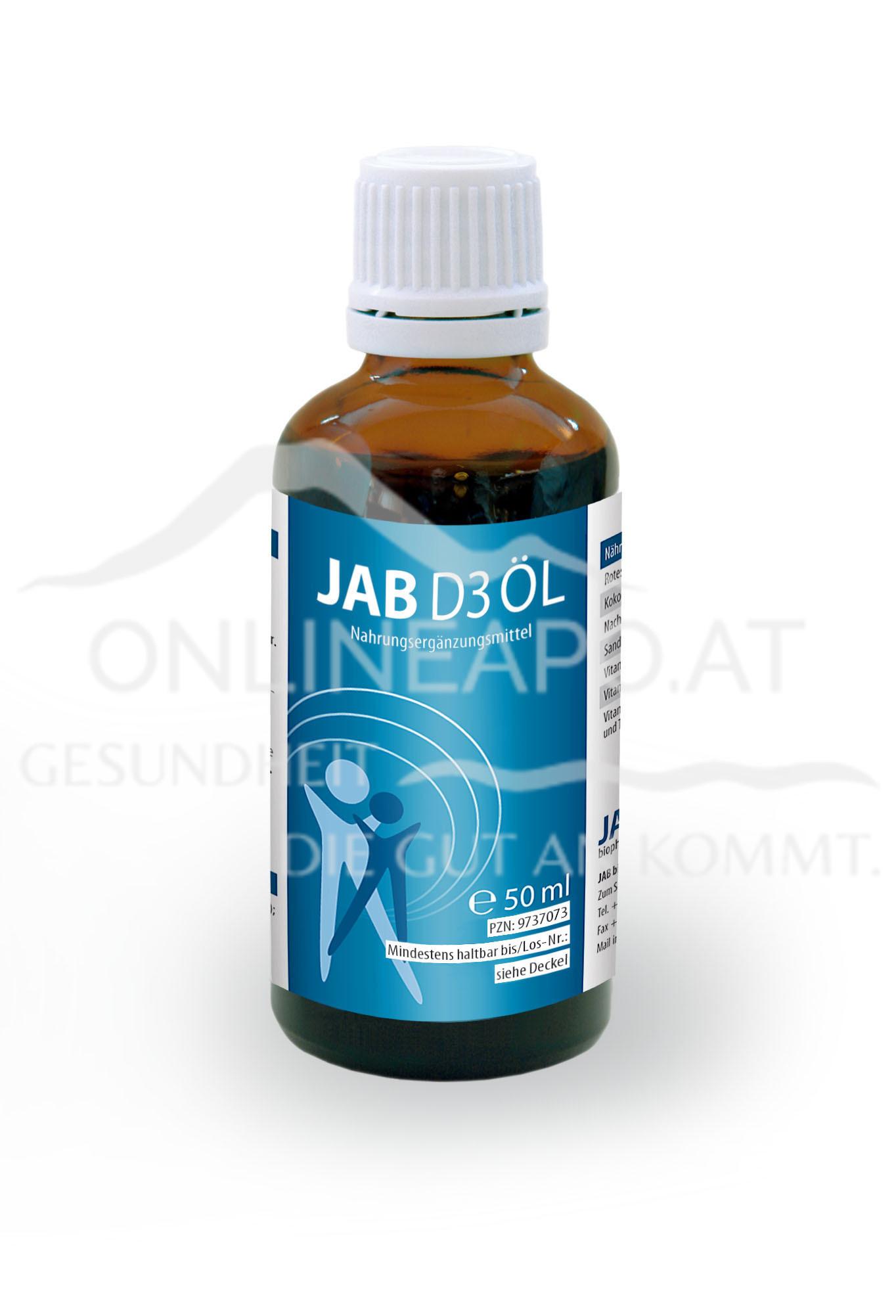 JAB Vitamin D3 Öl