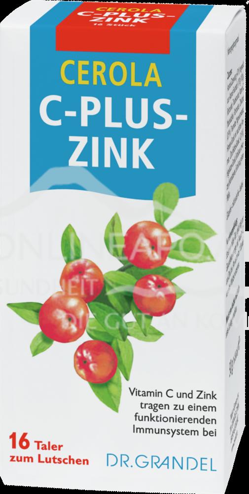 DR. GRANDEL Cerola C-plus-Zink Taler
