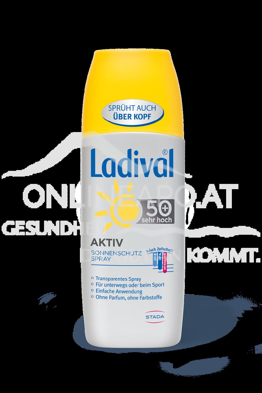 Ladival® Aktiv Transparentes Sonnenschutz Spray LSF 50+