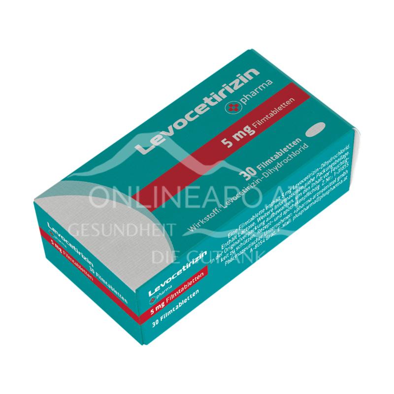 Levocetirizin +pharma 5 mg Filmtabletten