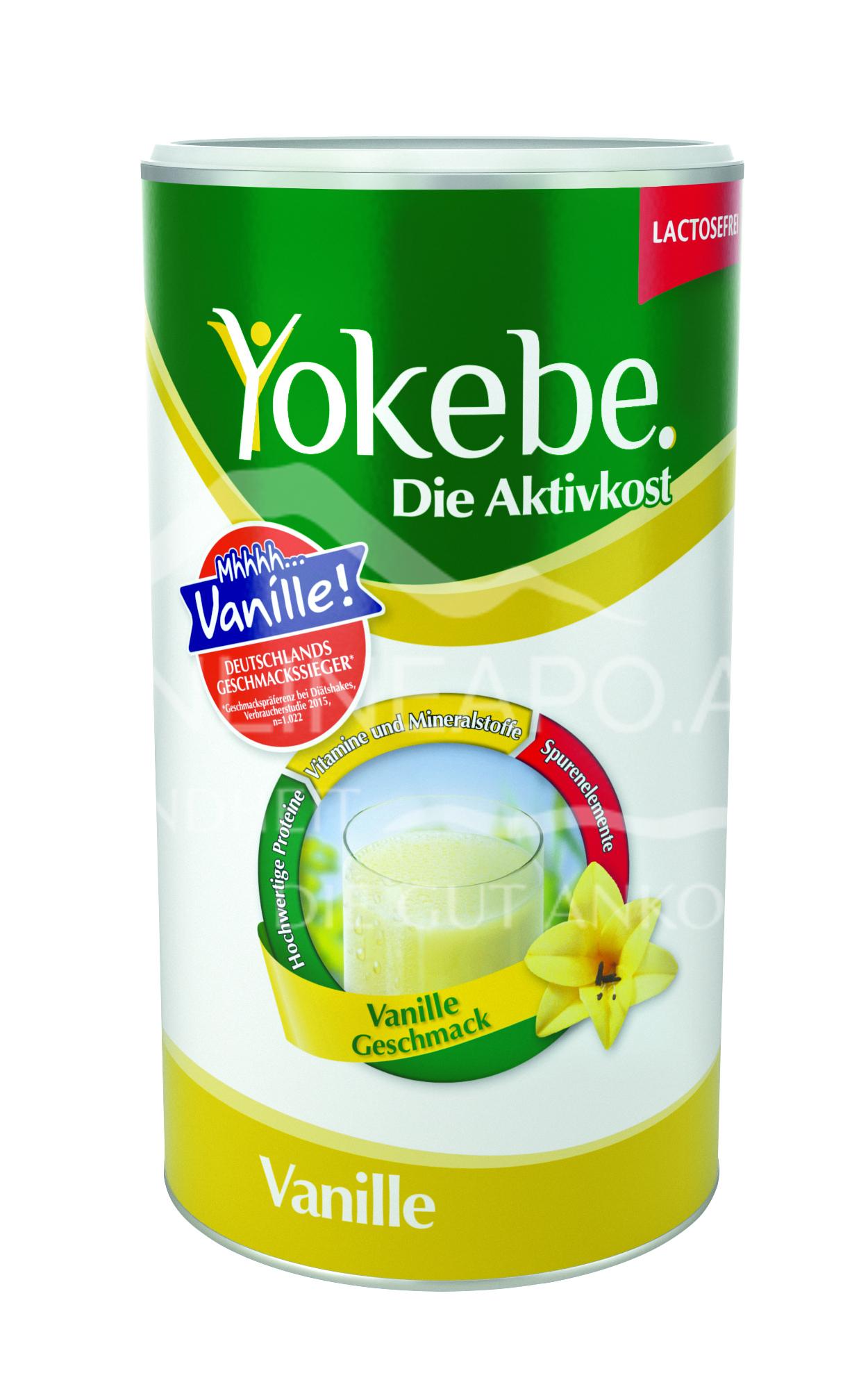Yokebe Vanille Lactosefrei