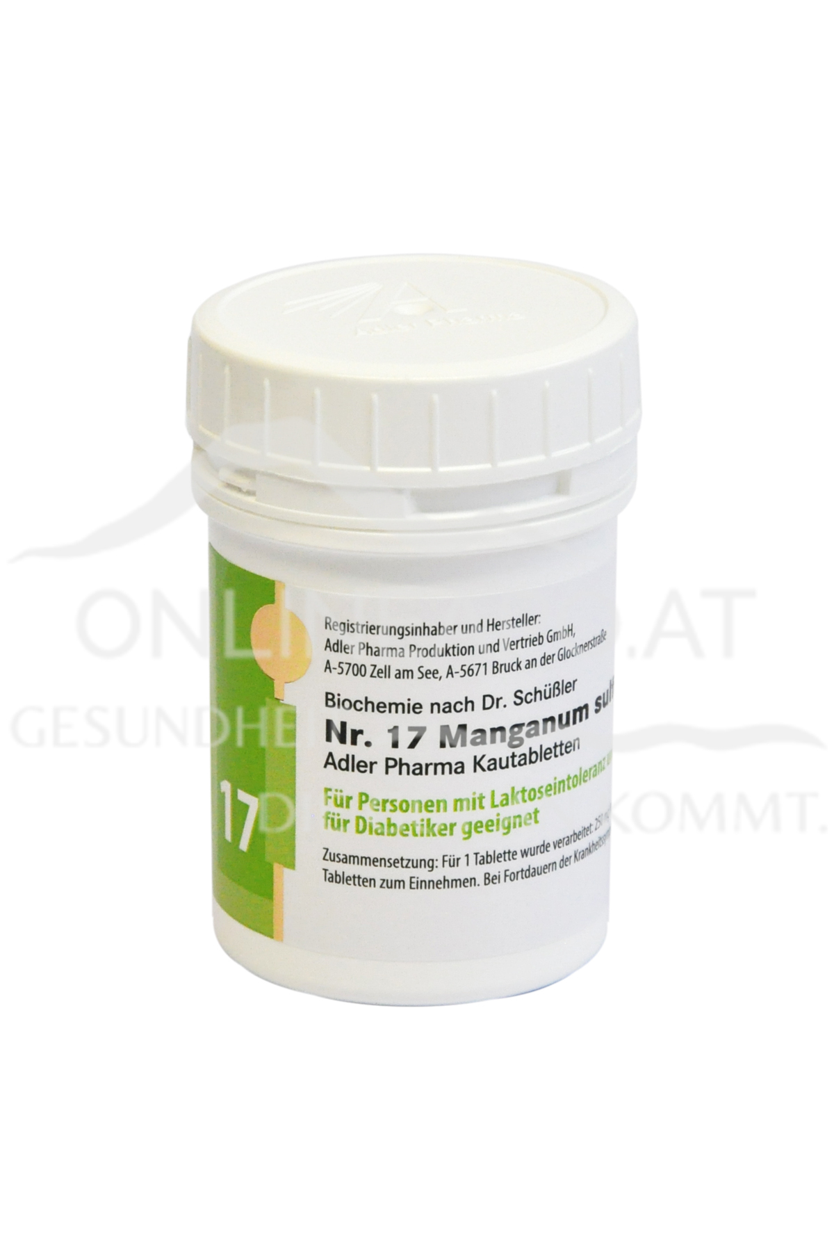 Schüßler Nr. 17 Manganum sulfuricum D12 LI