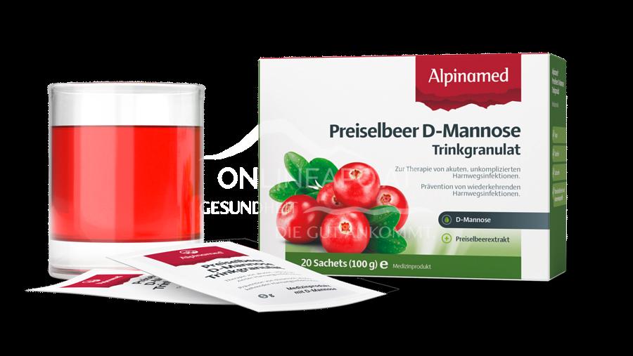 Alpinamed® Preiselbeer D-Mannose Trinkgranulat