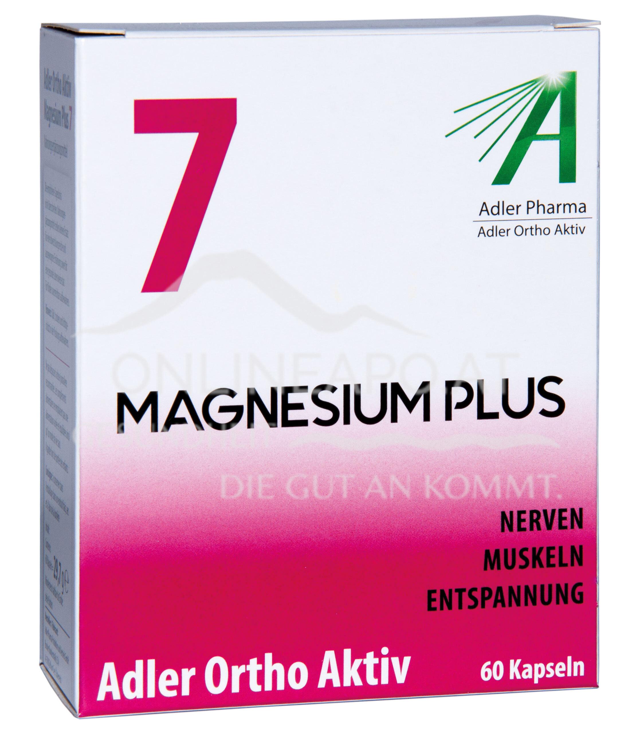 Adler Ortho Aktiv Nr. 7 Magnesium Plus