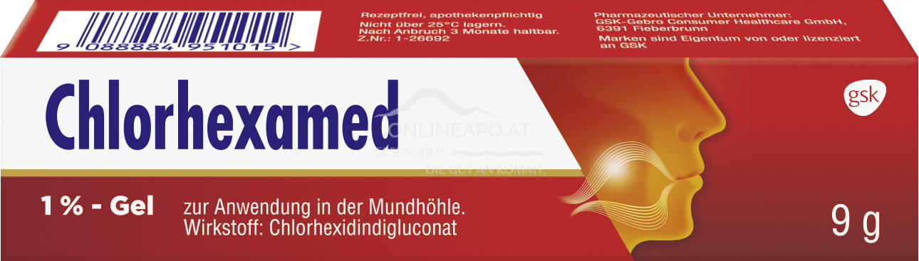 Chlorhexamed 1% Gel mit Applikator