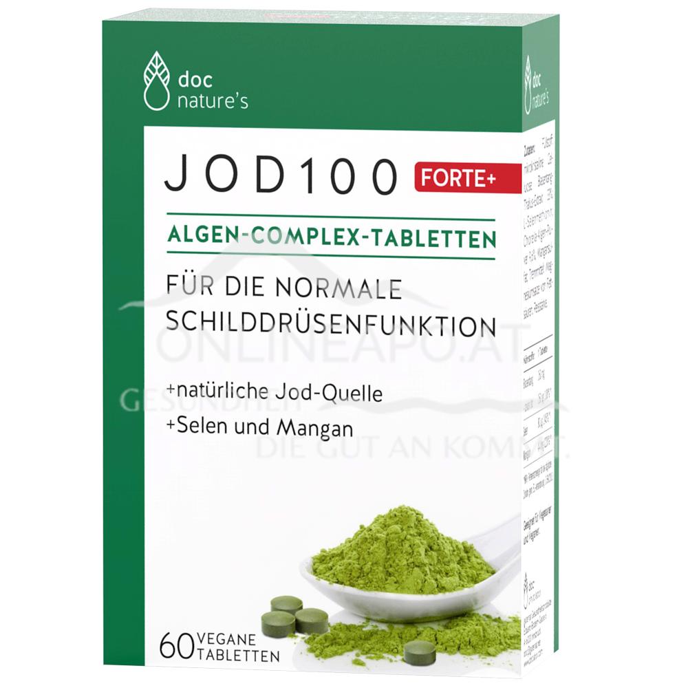 doc nature's Jod 100 Forte + Algen-Complex-Tabletten