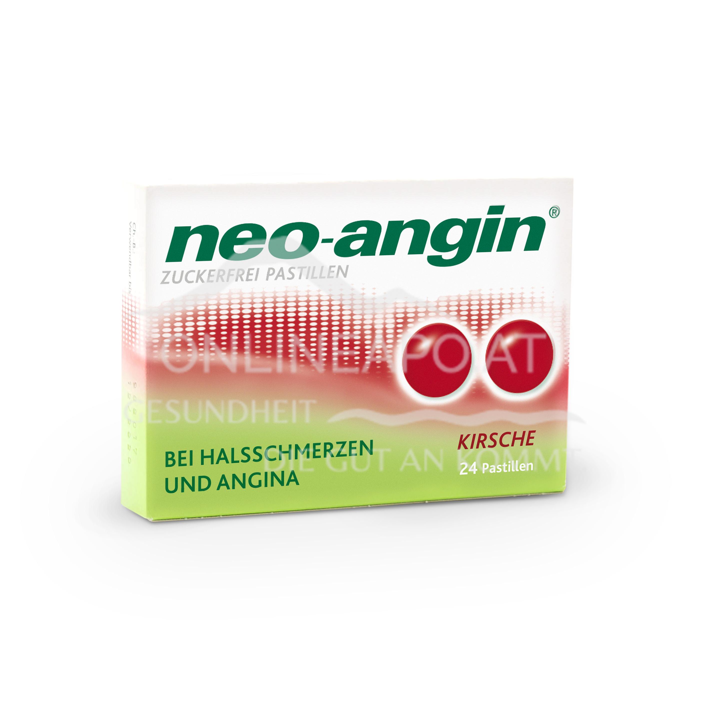 neo-angin® Kirsche zuckerfrei Pastillen