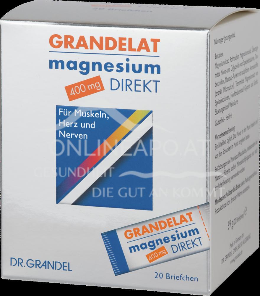 DR. GRANDEL Grandelat magnesium direkt 400 mg