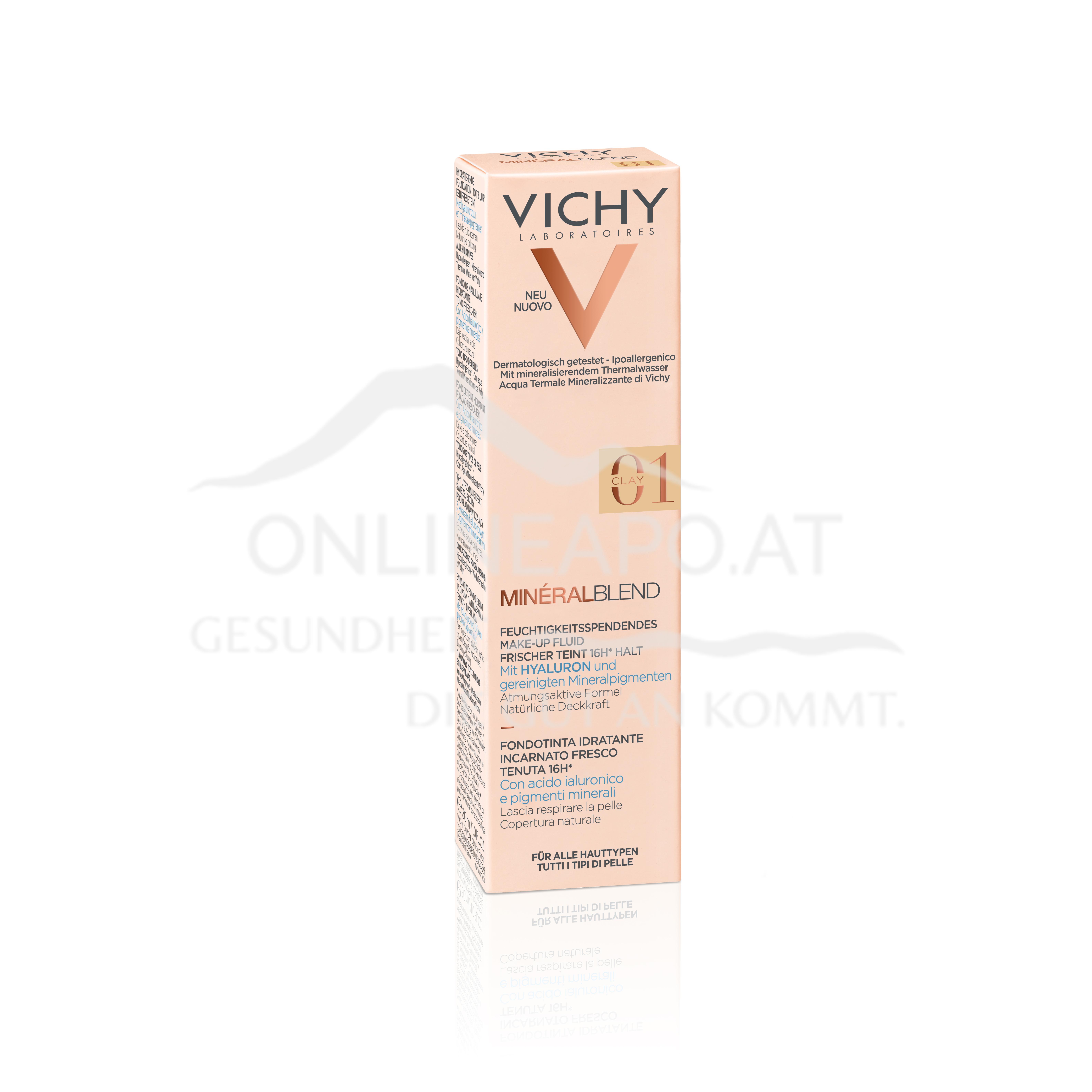 VICHY Mineralblend Fluid 01 - Clay