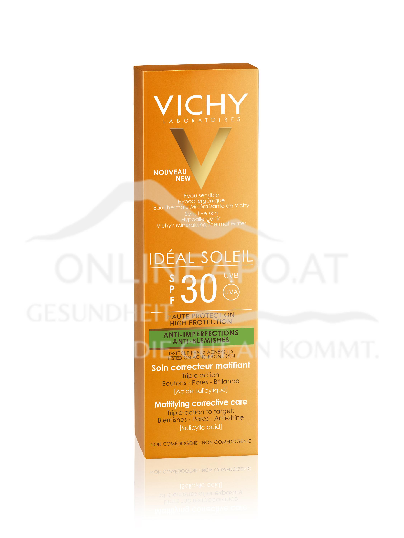 VICHY Ideal Soleil Anti-Unreinheiten LSF30