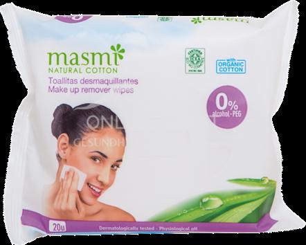Masmi Organic Care - Bio Make-Up Reinigungstücher