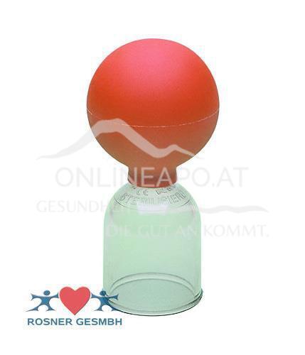 Rosner Acrylschröpfglas