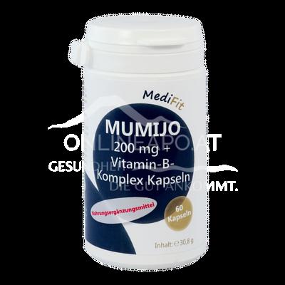 Mumijo 200mg + Vitamin-B-Komplex Kapseln MediFit